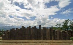 Ponto de vista de Pang Ma Pha, Tailândia do norte Imagens de Stock