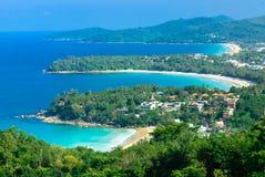 Ponto de vista de Phuket, Tailândia Imagem de Stock Royalty Free