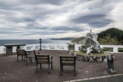 Ponto de vista do mar cantábrico Imagem de Stock