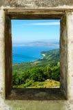 Ponto de vista em Hai van Pass Foto de Stock Royalty Free