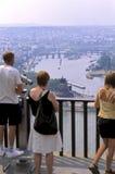 Ponto de vista Koblenz, Alemanha Fotografia de Stock Royalty Free
