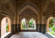 Ponto de vista Lin-dar-Aixa (Mirador de Lin-dar-Aixa) em Alhambra Fotos de Stock Royalty Free