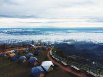 Ponto de vista, montanha Foto de Stock