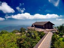 Ponto de vista no console de Langkawi. Malaysia Foto de Stock