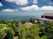 Ponto de vista no console de Langkawi. Malaysia Imagens de Stock