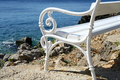 Ponto de vista no mar de adriático Imagens de Stock Royalty Free