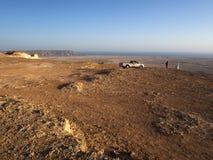 Ponto de vista perto de Shuwaymiyah, Omã Imagem de Stock Royalty Free