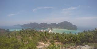 Ponto de vista Tailândia de Phi Phi Don Fotografia de Stock