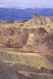 Ponto de Zabriskie das dunas da argila Fotos de Stock Royalty Free