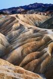 Ponto de Zabriskie, Death Valley fotografia de stock