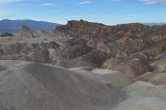 Ponto de Zabriskie em Death Valley Foto de Stock
