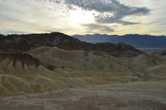 Ponto de Zabriskie em Death Valley Imagens de Stock Royalty Free