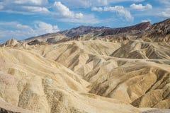 Ponto de Zabriskie no parque nacional de Vale da Morte, Califórnia, EUA Fotografia de Stock