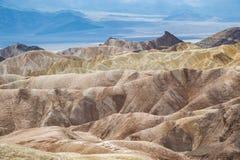 Ponto de Zabriskie no parque nacional de Vale da Morte, Califórnia, EUA Foto de Stock Royalty Free