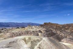 Ponto de Zabriskie, o Vale da Morte, Califórnia Imagens de Stock