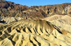 Ponto de Zabriskie, parque nacional de Vale da Morte, Calif Fotografia de Stock Royalty Free