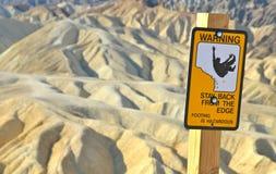Ponto de Zabriskie, parque nacional de Vale da Morte, Calif Fotografia de Stock