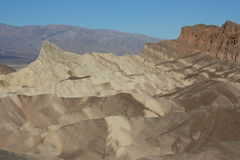Ponto Death Valley Califórnia de Zabriskie Imagem de Stock Royalty Free