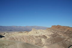 Ponto Death Valley de Zabriskie Fotografia de Stock Royalty Free