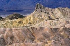 Ponto Death Valley de Zabriskie Fotos de Stock Royalty Free
