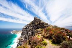 Ponto do cabo, África do Sul foto de stock royalty free