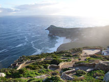 Ponto do cabo/cabo da boa esperança, Cape Town Fotografia de Stock Royalty Free