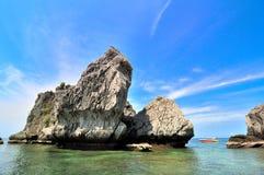 Ponto do mergulhador em Krabi Tailândia foto de stock royalty free