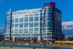 Ponto do negócio de Katowice Foto de Stock