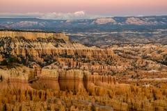 Ponto do por do sol - Bryce Canyon, Utá Fotos de Stock Royalty Free