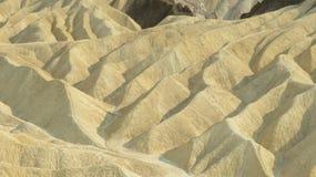 Ponto do zabriskie do deserto do Vale da Morte foto de stock