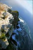 Ponto e Oceano Atlântico do cabo fotografia de stock royalty free