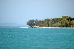 Ponto em uma baía em Vietname imagem de stock royalty free