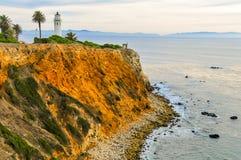 Ponto Fermin Lighthouse Fotografia de Stock