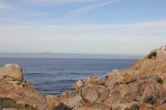 Ponto Joe, Pebble Beach, movimentação de 17 milhas, Califórnia, EUA Fotografia de Stock Royalty Free
