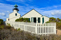 Ponto Loma Lighthouse Fotos de Stock Royalty Free