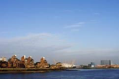 Ponto Londres de Blackwall Imagens de Stock Royalty Free
