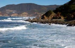 Ponto Montana, CA: Seascape do Oceano Pacífico Fotografia de Stock Royalty Free
