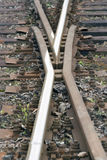 Ponto no ferrovia Imagens de Stock