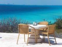 Ponto sul em Isla Mujeres, México imagem de stock royalty free