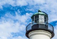 Ponto velho Loma Lighthouse em San Diego, Califórnia Foto de Stock