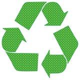 Ponto verde Fotografia de Stock Royalty Free