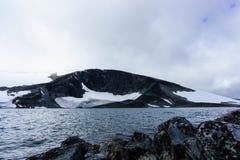 Pontonowy rejs w Arktycznym fjord Zdjęcie Stock