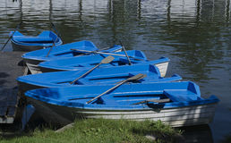 Pontoon and boats Royalty Free Stock Photography