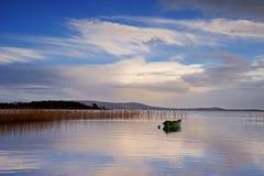 Pontoon湖co mayo 库存图片