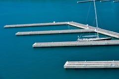 Pontoon dock Royalty Free Stock Images