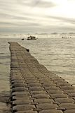 Pontoon jetty Stock Photography