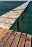 Pontoon and Sea Royalty Free Stock Photo