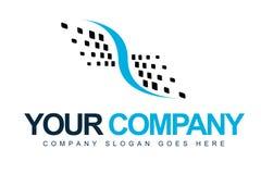 Pontos abstratos do logotipo Imagem de Stock