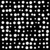 Pontos aleatórios, neve, projeto do ícone do símbolo do vetor dos pontos Imagem de Stock