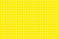 Pontos amarelos Imagem de Stock Royalty Free